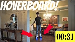 Hoverboard Obstacle Course!
