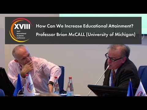 How Can We Increase Educational Attainment?