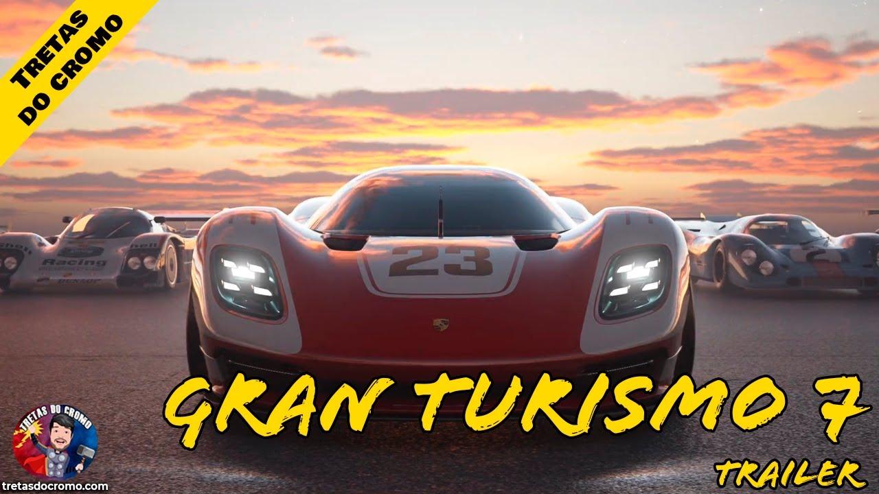 Novo trailer para Gran Turismo 7