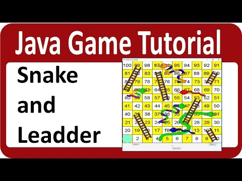 Java Game Programming Tutorial Build Snake And Leadder Game In Java