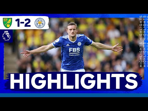 Vardy & Albrighton on target against Norwich |  Norwich City 1 Leicester City 2