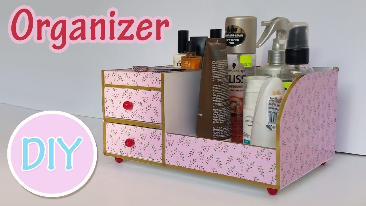 Diy Crafts Bedside Table Organizer Ana Diy Crafts