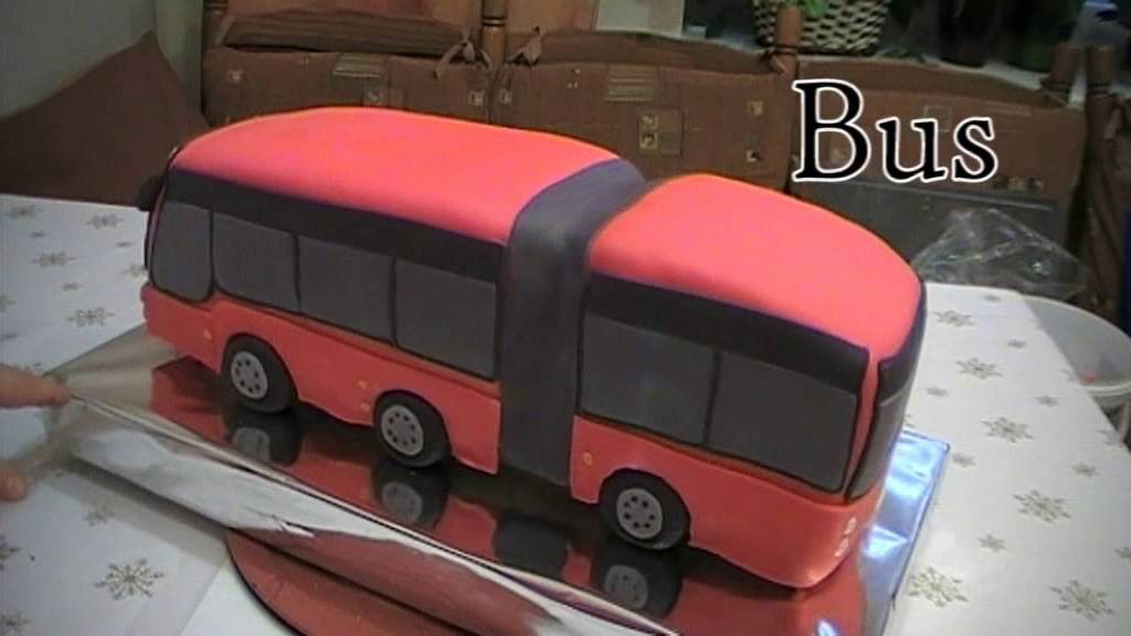 Bus Cake Tutorial