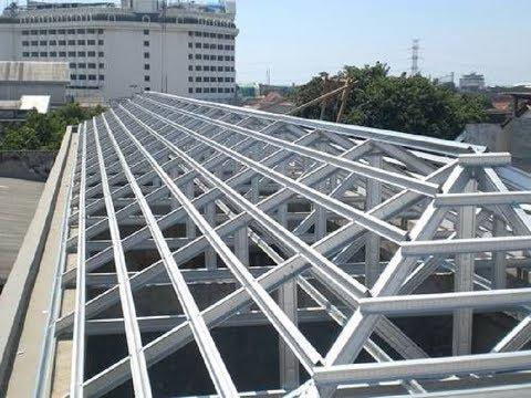 gambar rangka atap baja ringan limasan amazing cement working you need know beautiful art rendering