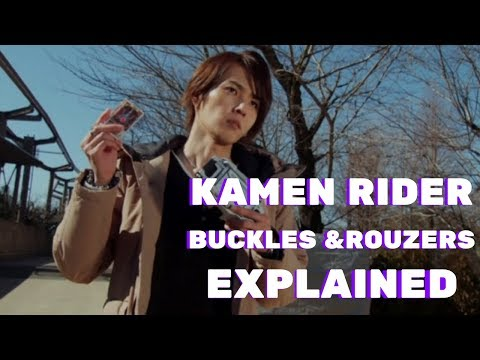 Kamen Rider Blade: Buckles & Rozuers EXPLAINED