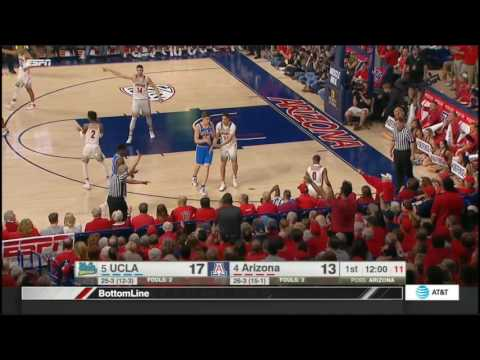 (NCAAM) #5 UCLA at #4 Arizona in 40 Minutes - 2/25/17