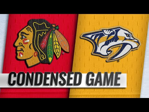 12/01/18 Condensed Game: Blackhawks @ Predators