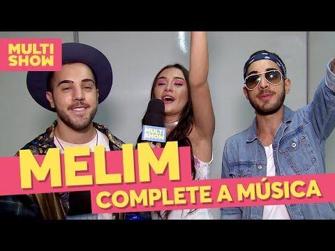 """""""Complete A Música"""" com a banda Melim  Bastidores  Música Multishow"""