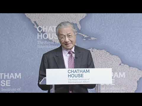 Tun Mahathir Mohamad on The Future of Democracy in Asia  1 Oct 2018