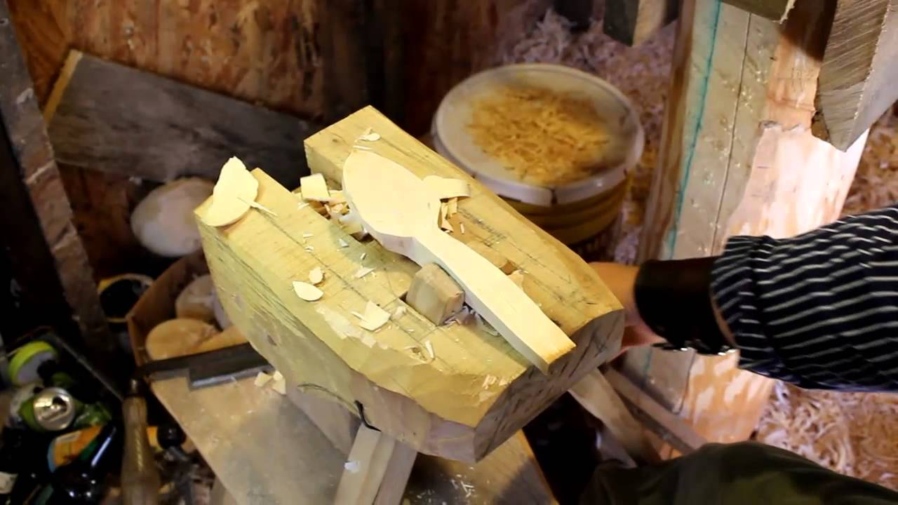 Spoon carving mule with scorp skavare youtube