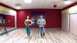 Обучалка БАЧАТА ! Антон и Настя / Сморим и учимся вместе с Dance Center