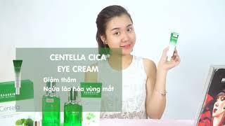 Hướng dẫn sử dụng bộ sp Beauskin Centella CICA