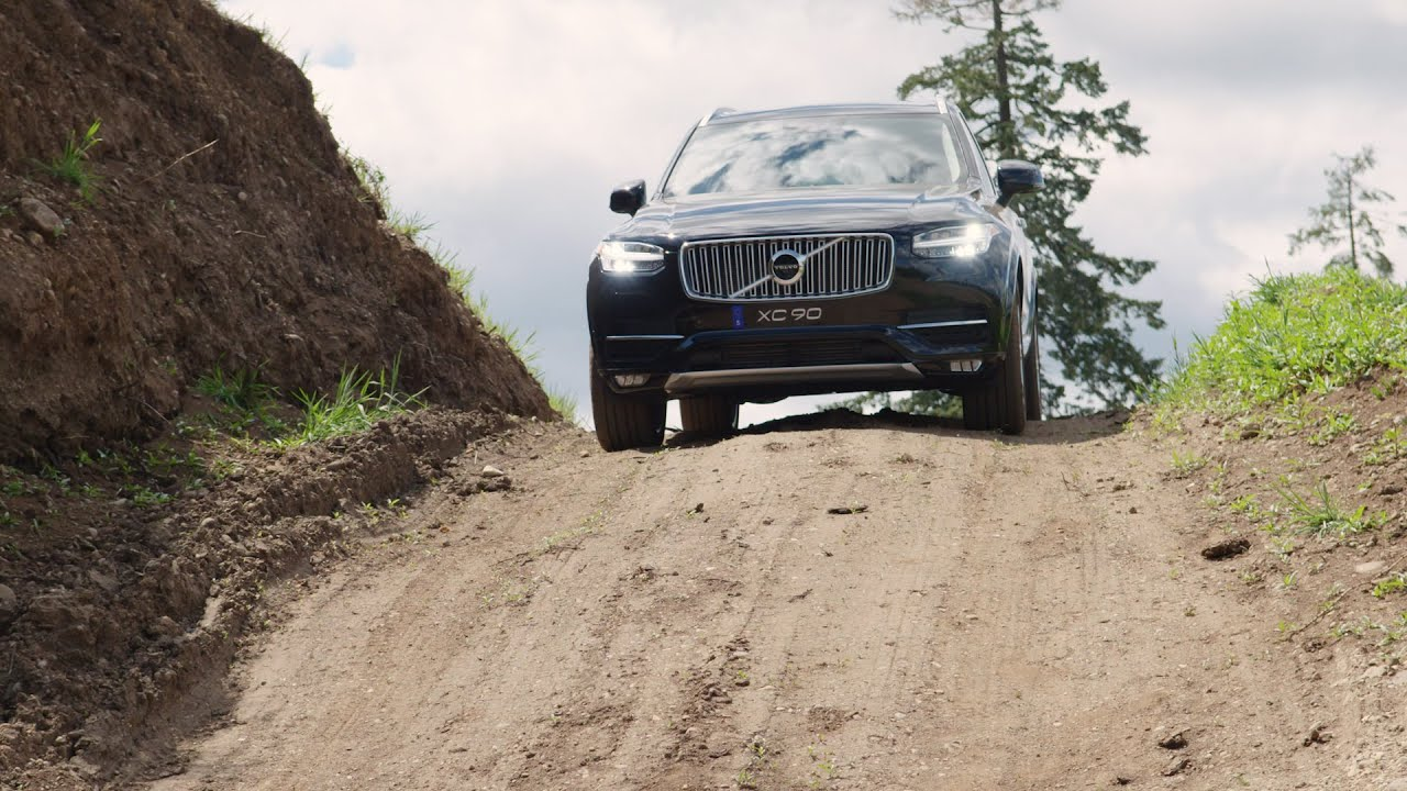volvo xc90 inscription offroad feature review youtube. Black Bedroom Furniture Sets. Home Design Ideas