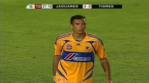 golazo de blas prez jaguares vs tigres 32 jornada 11 clausura 2008 liga mx hd