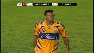 GOLAZO De Blas Pérez Jaguares vs Tigres 3-2 Jornada 11 Clausura 2008 Liga Mx HD