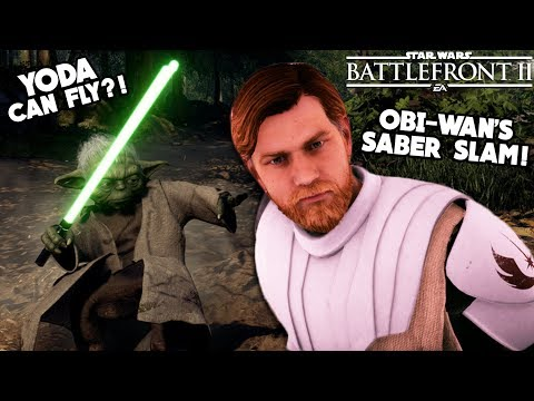 Star Wars Battlefront 2 - 5 Incredible Hero Secrets You NEED to Know! Yoda's Flight?! thumbnail