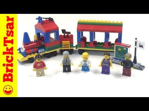 LEGO 40166 LEGOLAND Train - New 2016 Set Review and Build