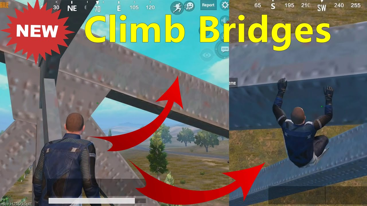 Climb bridges with new tricks  | New Climb Update | PUBG MOBILE