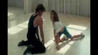 Lover Boy scene с Патриком Суэйзи и Дженнифер Грей. Грязные танцы,