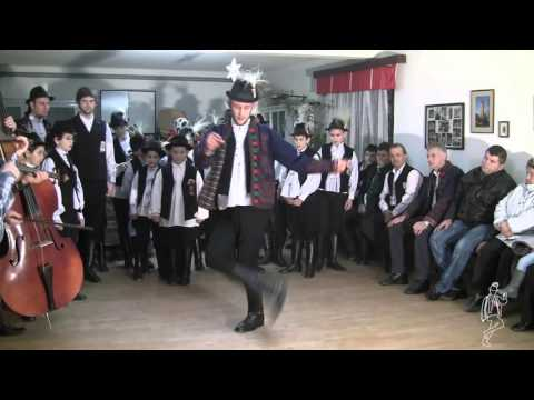 Lad's dances in Romania