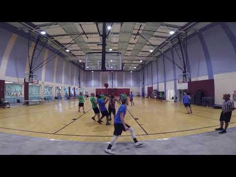 SoCo Basketball 5-6-18 Trust The Process (Blue) Vs Swishh House (Green)