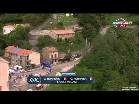 ERC 2013 France Day 2 - SS 8 Live - Part 1/4