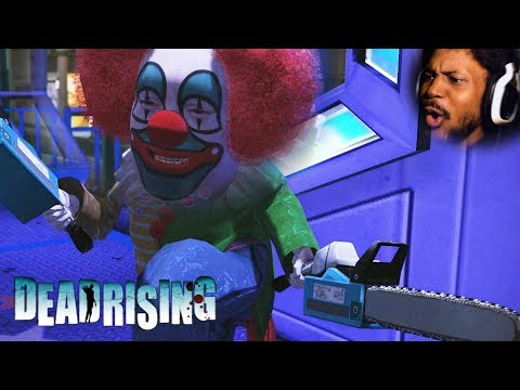 YOU FEAR CLOWNS? THIS ONE HAS A CHAINSAW… best zombie game (Dead Rising Part 3)