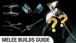 [Warframe] how to build Different Types of Melee Weapons