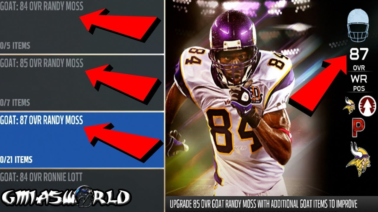 <b>Madden</b> 18 Ultimate Team Tips: HOW TO GET ANY GOAT PLAYER AND ...