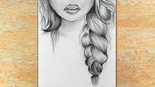drawing beginners pencil draw easy sketch