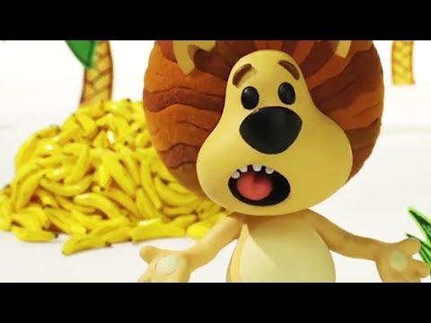Raa Raa The Noisy Lion | Go Bananas | English Full Episodes | Cartoon For Kids🦁