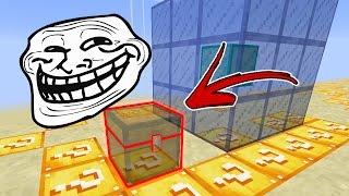 Minecraft CUBÃO : BAÚ INVISÍVEL!! (MINECRAFT TROLL)