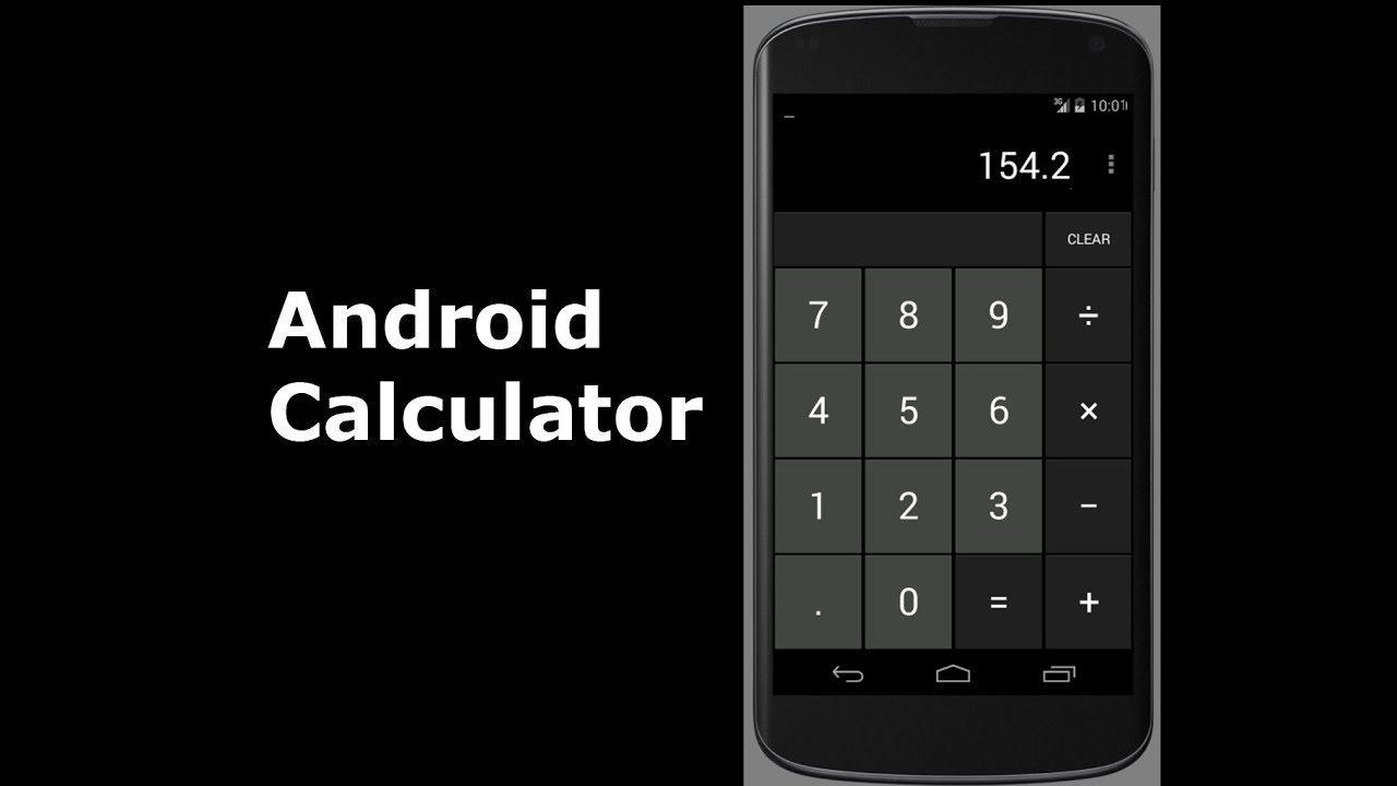 Android Calculator Application