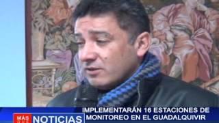 Implementan 16 estaciones de monitoreo en el Guadalquivir