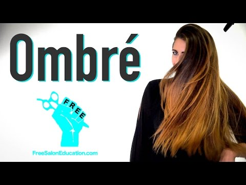 Ombre Color Technique 2.0 - How to do a Balayage Ombre Hair color W ...