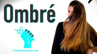 Ombre Color Technique 2.0 - How to do a Balayage Ombre Hair color W/ Expert Brian Haire - olaplex