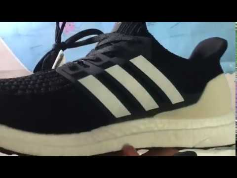"2145930e98bf6  70 Adidas Ultra Boost 4.0 ""Show Your Stripes"" AQ0062 - YouTube"