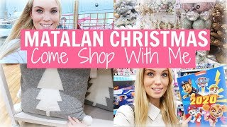 MATALAN CHRISTMAS COME SHOPPING WITH ME | DECEMBER 2019 | Alex Gladwin
