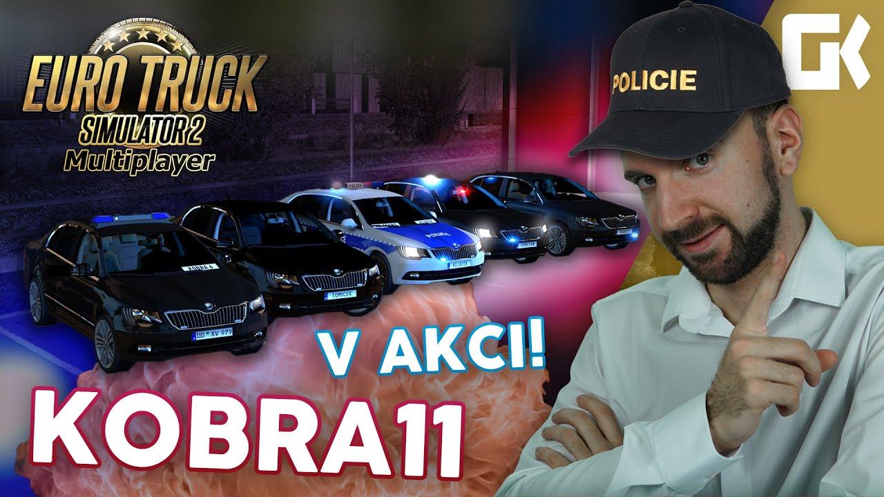 KOBRA 11 V AKCI!   Euro Truck Simulator 2 Multiplayer