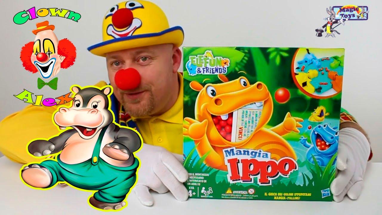 Giocattoli per bambini e ragazzi, Mangia Ippo - Giochi da tavolo - Hasbro - Giocattoli - YouTube