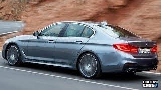 2017 BMW 5 Series M Sport Interior / 540i Test Drive