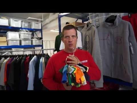 Custom team apparel for sports teams