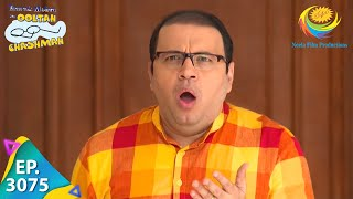 Taarak Mehta Ka Ooltah Chashmah - Ep 3075 - Full Episode - 7th January, 2021