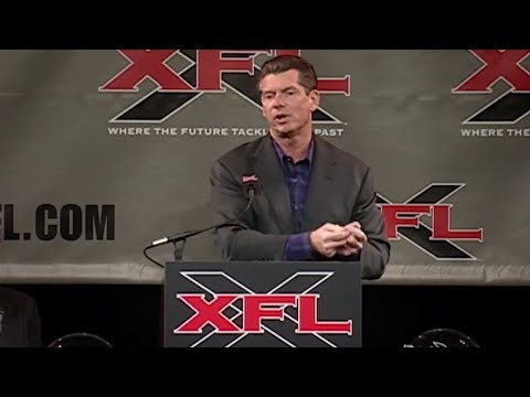 Vince McMahon announces his smashmouth football league in 2000 | 30 for 30 | ESPN Archives
