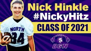 Nick Hinkle - Class Of 2021 LB  - Downers Grove North