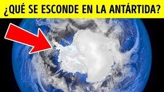 Las 10 cosas más misteriosas encontradas congeladas en Antártida