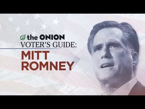 The Onion Voter's Guide To Mitt Romney