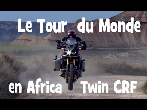 ESSAI HONDA AFRICA TWIN CRF 1000 ► Road Trip de Paris a Cape