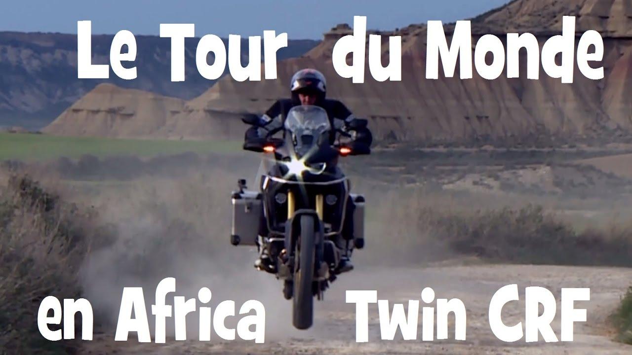 essai honda africa twin crf 1000 road trip de paris a cape town by lolo cochet moto youtube. Black Bedroom Furniture Sets. Home Design Ideas
