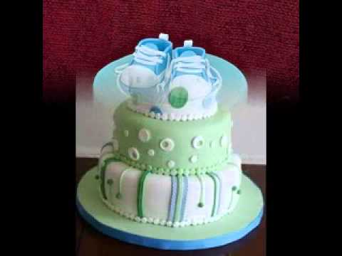 Easy Cake Decorating Baby Shower : Easy DIY Baby shower cake decorating ideas boy - YouTube